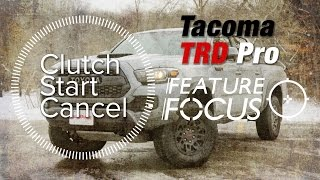 Download How to Use Clutch Start Cancel in the Toyota Tacoma TRD Pro - Feature Focus Video