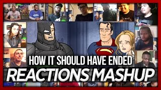 Download How Batman v Superman: Dawn of Justice Should Have Ended Reaction's Mashup (18 people, 16 videos) Video