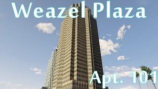 Download GTA 5 ONLINE - Weazel Plaza Apt. 101 | Properties & Apartment Tour | [PS4] Video