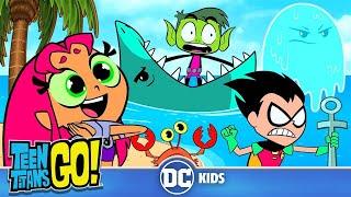 Download Teen Titans Go! | Beach Day! | DC Kids Video