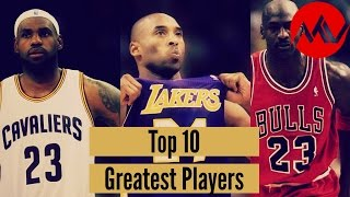 Download Top 10 Greatest Players in NBA History Video