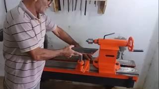 Download apresentando meu torno para madeira Video
