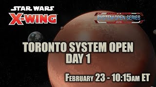 Download X-Wing - Toronto System Open | Day 1 Video
