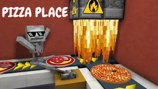 Download Monster School: WORK AT PIZZA PLACE - Minecraft Animation Video