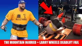 Download Hafthor Bjornsson INJURED at 2019 World's Strongest Man + Larry Wheels Deadlift FAIL + MORE Video