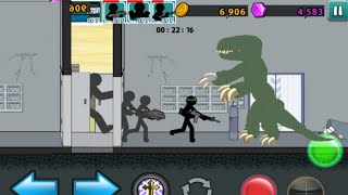 Download Doble building infiltration | Zombie MODE level 22 | Anger of Stick 5 Video