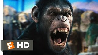 Download Rise of the Planet of the Apes (1/5) Movie CLIP - Caesar Speaks (2011) HD Video