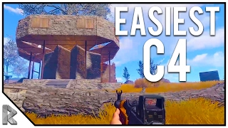 Download EASIEST C4 EVER STOLEN! - Neighbor RAID Part 1/2 - Rust Survival w/ Friends #56 (Raw, Unedited) Video