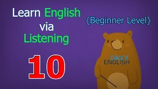 Download Learn English via Listening Beginner Level | Lesson 10 | Joe's First Car Video