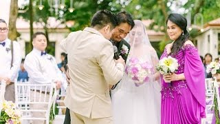 Download Singing Groom - Beautiful In White (Terence & Frances Wedding) Video