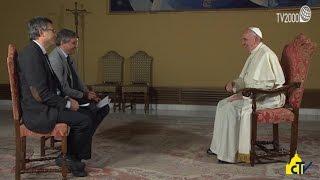 Download Papa Francesco, l'anticipazione dell'intervista a Tv2000 e inBlu Radio per chiusura Giubileo Video