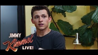 Download Tom Holland & Jimmy Kimmel in Exclusive Scene from Spider-Man: Far From Home Video