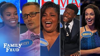 Download TOP 5 moments from OCTOBER 2016 | Family Feud Video