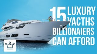 Download 15 Luxury Yachts That Only Billionaires Can Afford Video