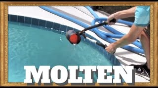 Download Pouring molten aluminum into a pool!! Video