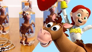 Download Toy Story Inspired Jessie and Bullseye Ring Toss | Disney Family Video