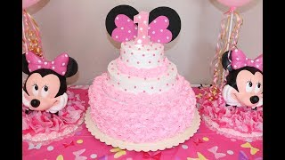 Download Montando decorando pastel de Minnie Mouse Video