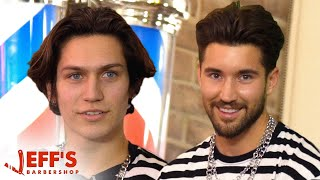 Download TikTok Star Lil Huddy Confronted During Haircut | Jeff's Barbershop Video