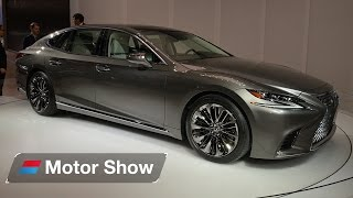 Download 2017 Lexus LS 500 - First Look at the Detroit Motor Show Video