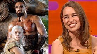 Download Emilia Clarke on Khal Drogo's BIG FLUFFY sense of humor - The Graham Norton Show Video