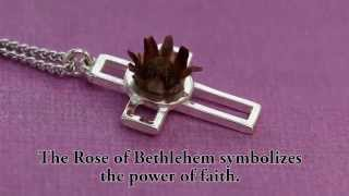 Download Blooming Rose of Bethlehem Cross Necklace Video