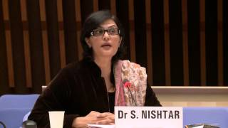 Download WHO: Dr Sania Nishtar at the Director-General candidates forum Video