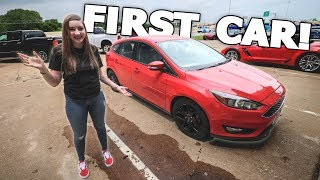 Download BUYING MY SISTER HER FIRST CAR!! Video