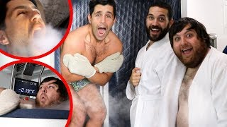 Download FREEZING OUR BODIES TO -200 DEGREES ft Joe & Jonah! (CRYOTHERAPY) Video