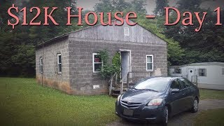 Download $12,000 CASH House - Renovation Day ONE! - #1 Video