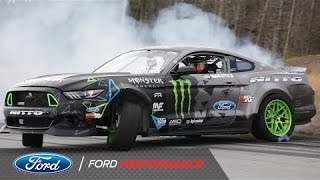 Download Vaughn Gittin Jr. Tests his 900 hp Ford Mustang 900 | Mustang RTR | Ford Performance Video