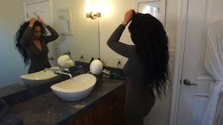 Download Glamhairous Extensions @glamhairousexts Wig Review by @alleyesonjordyc Jordy C. Video