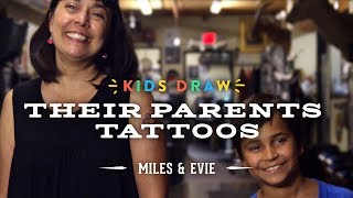 Download Miles Designs His Mom's First Tattoo | Kids Draw | Cut Video