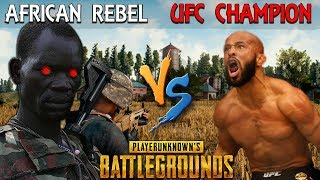Download African Rebel SCARES the UFC World Champ on PUBG - Demetrious Johnson Video