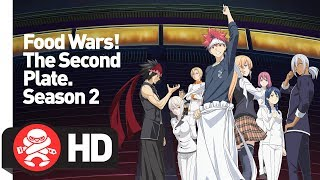 Download Food Wars: The Second Plate! Complete Season 2 - Official Trailer Video