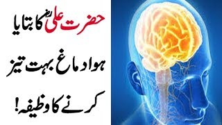 Download Hazrat Ali Ka Bataya Hova Dimag Ko Taiz Karne Ka Wazifa | Powerful Wazifa For Sharp Memory Video