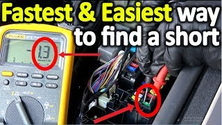 Download How to find a short in a modern car fast and easy (The correct way) Video