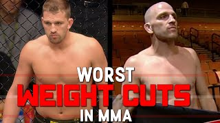 Download Worst Weight Cuts In MMA Video