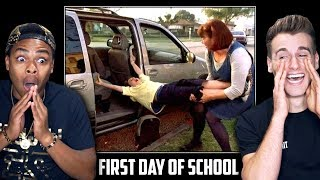 Download HILARIOUS FIRST DAY BACK TO SCHOOL (Funniest Reactions) Video