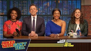 Download Jokes Seth Can't Tell with Tiffany Haddish Video