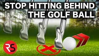 Download HOW TO STOP HITTING BEHIND THE GOLF BALL! Video