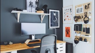 Download DIY Home Office and Desk Tour — A Designer's Workspace Video