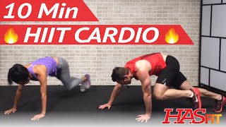 Download 10 Min HIIT Cardio Workout for Fat Loss - High Intensity Workout at Home for Women Men No Equipment Video