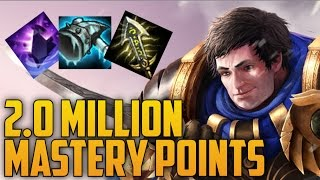Download SILVER Garen 2,000,000 MASTERY POINTS- Spectate 2nd Highest Mastery Points on Garen Video