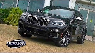 Download 2019 BMW X4 M40i X Drive FIRST DRIVE REVIEW (2 of 2): More tall sport station wagon than crossover Video