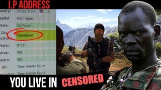 Download African Rebel HORRIFIES gamers with their REAL LOCATION Video
