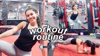 Download my workout routine 2018 // how I stay fit! | Ava Jules Video