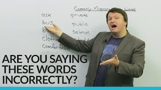 Download Fix these basic English pronunciation mistakes! Video