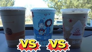 Download McDonalds Vs Burger King vs Wendys Milkshake Video