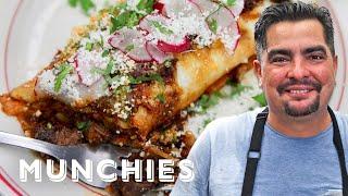 Download How To Make Chile Colorado Burritos with Aaron Sanchez Video