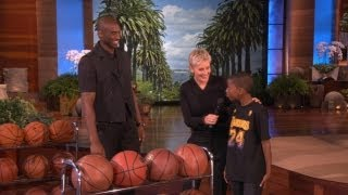 Download Kobe Meets a Young Fan Video